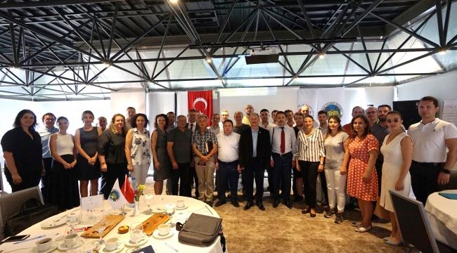 İTB'den İzmir Tarım Teknoloji Merkezi Çalıştayı