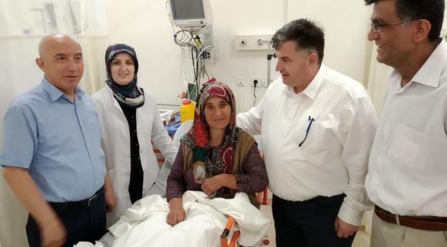 KINIK DEVLET HASTANESİ HİZMET VERMEYE BAŞLADI