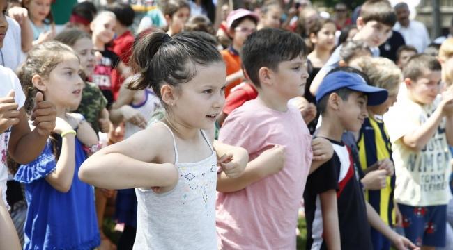 Konak'ta Çevre Koruma Haftası şenlikle kutlandı
