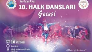 Menderes'te 10. Kez Halk Dansları Coşkusu Yaşanacak