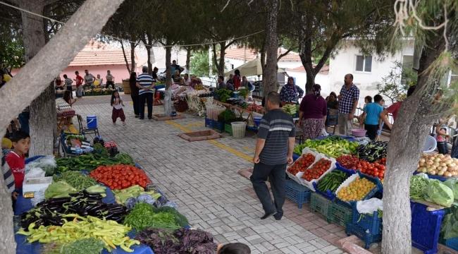 Menemen'de İlk Organik Pazar Açıldı