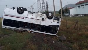 Nevşehir'de trafik kazası: 30 yaralı