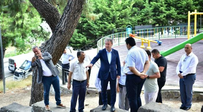 Altındağ Bornova'nın seyir terası olacak