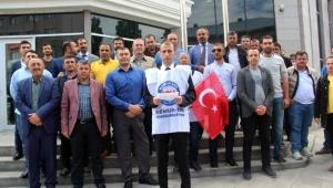 Ardahan'da Toç-Bir-Sen üyeleri destek istedi