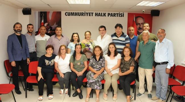 Balçovalı Şoför Esnaftan CHP'ye ziyaret