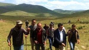 Başkan Demir, hayvan üreticilerinin sorunları dinledi