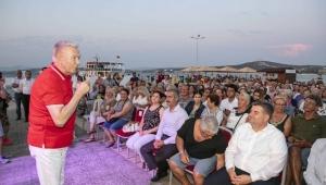 Dündar Çeşme'de Atatürk ve Cumhuriyet'i anlattı