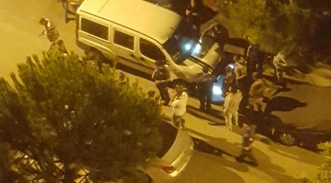 Evka 5' te Gece Silah Sesleri Polisi Alarma Geçirdi