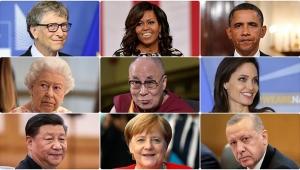 Obama'dan Aziz Sancar'a; en çok hayranlık duyulanlar listesi