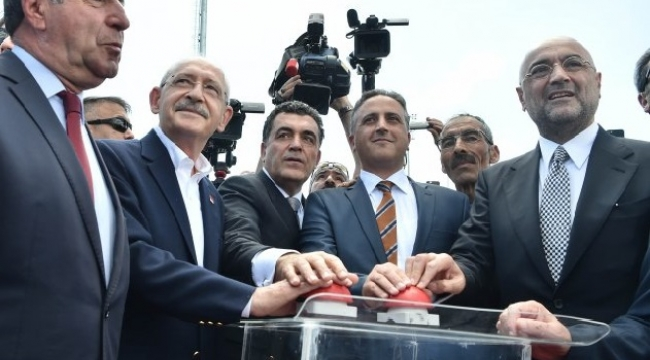 Ardahan'da Kılıçdaroğlu Atatürk heykelinin açılışını yaptı