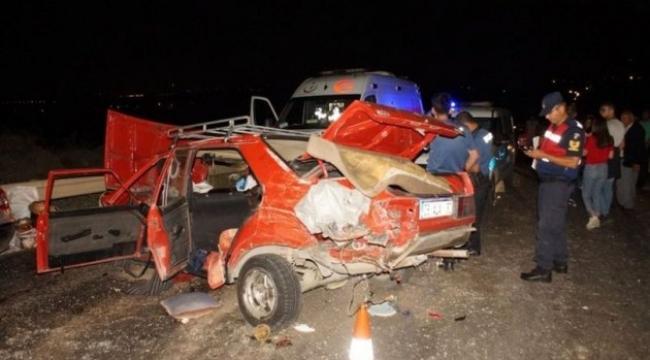 Ardahan ,Hanak,Sevimli ķöyünü yasa boğan kaza 6 aylık bebek ve babası öldü!