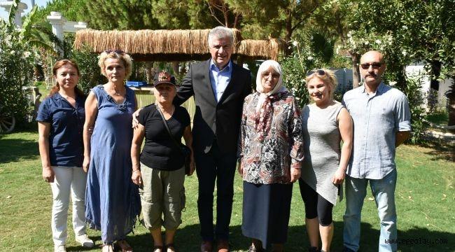 Başkan Engin şehit aileleri ile buluştu