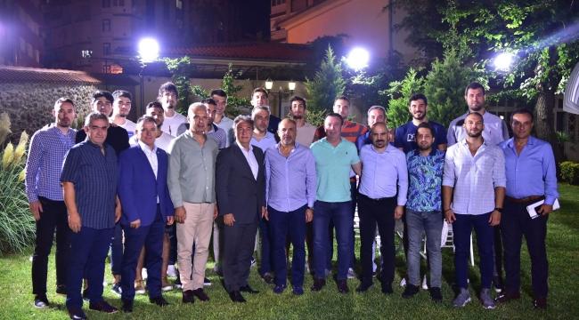 Bornova Belediyespor'da hedef play-off