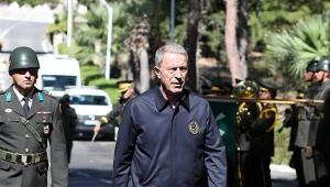 Milli Savunma Bakanı Akar'dan Kıbrıs mesajı
