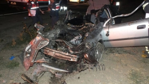 Zincirleme kaza: 2 ölü, 5 yaralı