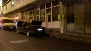 Ardahan'da Gaz kaçağı bulunan araca itfaiye ekipleri müdahale etti