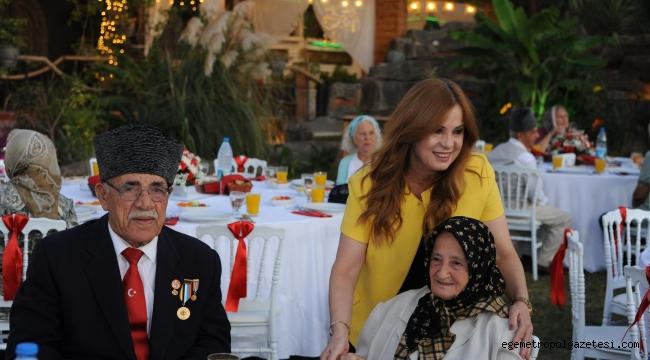 Başkan Çalkaya Gazilerin Onuruna yemek düzenledi