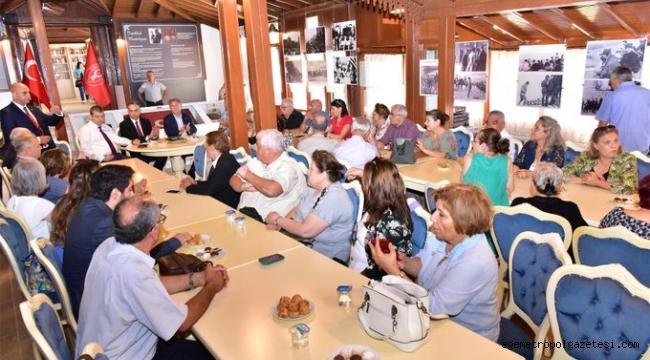 Belkahve'de 'Kurtuluş' buluşması
