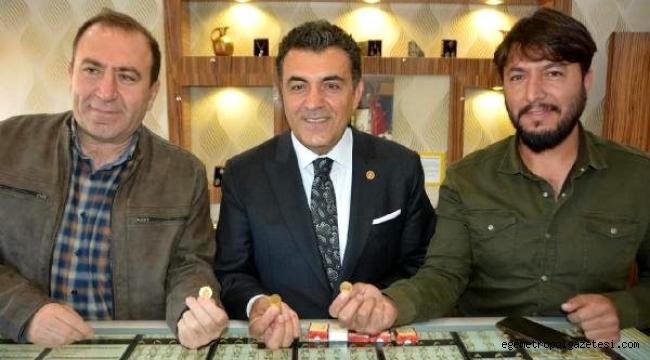 Faruk Demir, '100 Altın Adam Aranıyor' kampanyası için destek istedi.