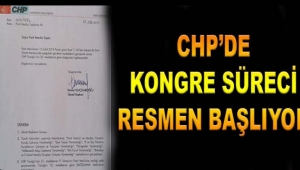 CHP önümüzdeki ay ilçe ve il kongreleri yapılmaya başlanacak