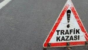 Ardahan'da otomobil devrildi: 2 yaralı