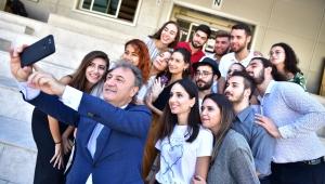 Başkan İduğ'dan üniversiteliler için yeni projeler