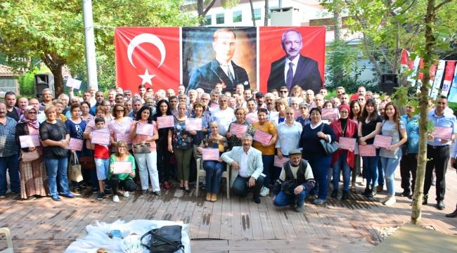 CHP'den sandık görevlilerine 'Teşekkür Belgesi'