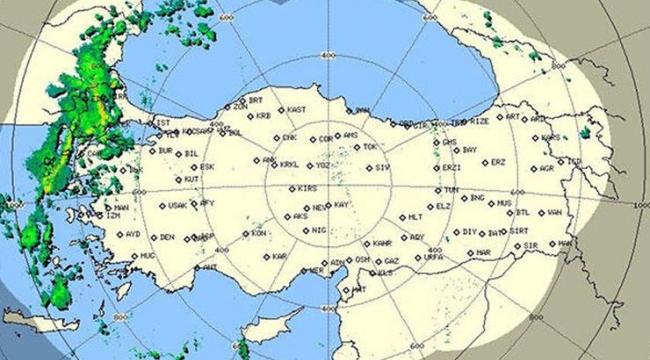 İşte son radar görüntüsü...
