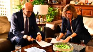 İzmir Büyükşehir Belediyesi tarım ve istihdamı teşvik için protokol imzaladı