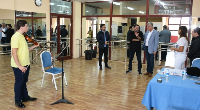 Narlırede'nin Çocuk Senfoni Orkestrası'na büyük ilgi