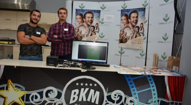 Torbalı'da sinemada belediye farkı