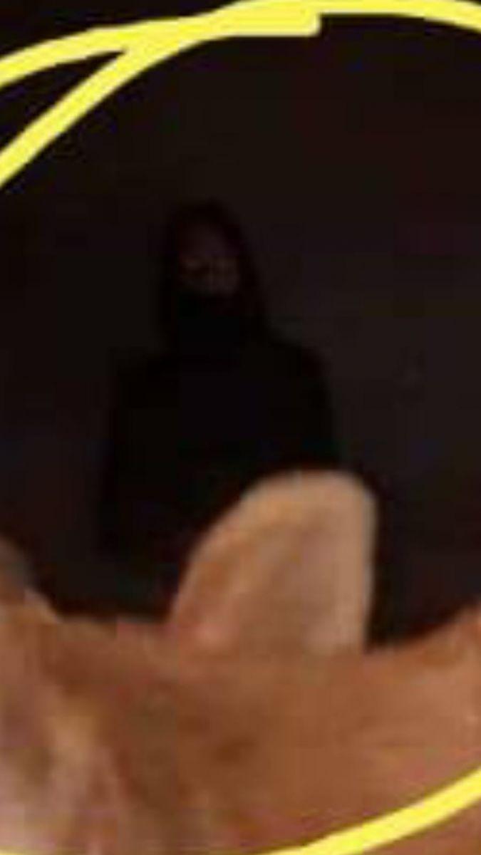Ardahan'da Esrarengiz silüet; Cin mi, Işık yansıması herkesi şakına uğratı