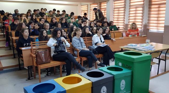 Çiğli Belediyesi'nden Okullarda 'Çevre ve Atık Yönetimi' Eğitimi
