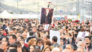 İzmir'de Atatürk için özel anma programı