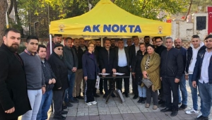 Ak Partili Kırkpınar'dan AK Noktalarına Ziyaret