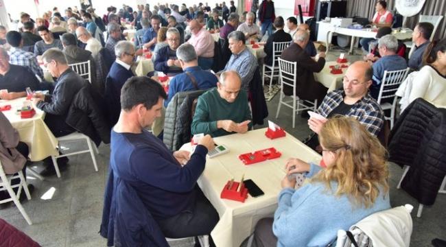 Bornova Belediyesi'nin ilk kez düzenlediği Briç Turnuvası, büyük heyecana sahne oldu