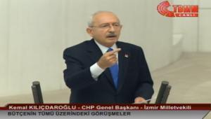 CHP Genel Başkanı Kılıçdaroğlu TBMM Genel Kurulunda Konuştu