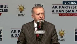Cumhurbaşkanı Erdoğan: İnsan gönlü kıranın partide kalemini kırarız