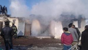 Ardahan'ın Göle İlçesine bir ev yandı