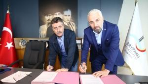 Bayraklı'da Türk Kızılayı ile 'sosyal yardım' protokolü imzalandı