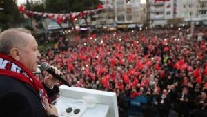 Cumhurbaşkanı Erdoğan Bergama'da Halka Seslendi