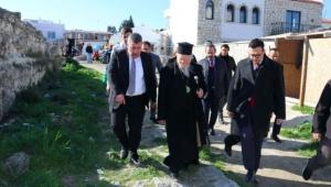 Fener Rum Patriği'nden Başkan Oran'a ziyaret