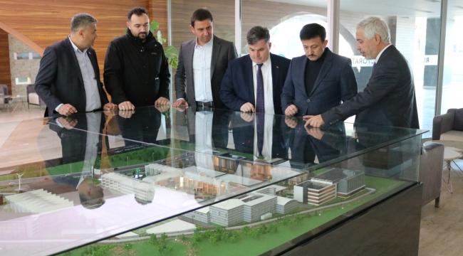 Hamza DAĞ ve Sadık DOĞRUER'den İzmir Bakırçay Üniversitesine Ziyaret