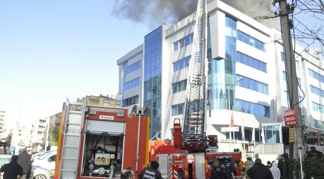 İzmir özel Egepol hastanede yangın