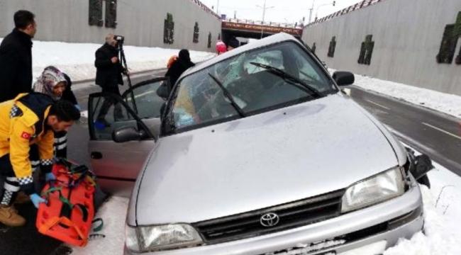 Kaza: Aynı aileden 5 kişi yaralıdı