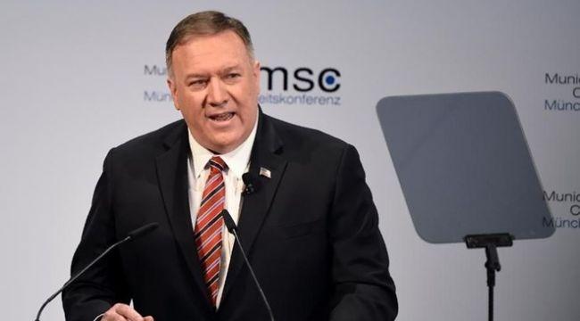 Pompeo'dan İran açıklaması: Görüşmeye hazırız
