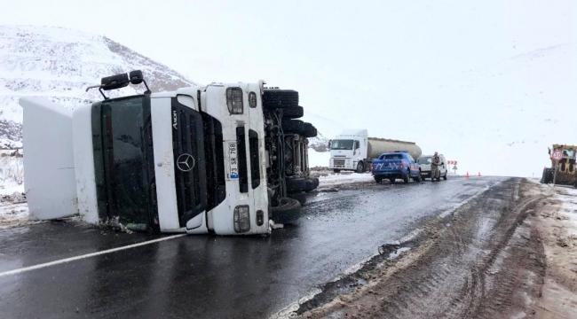 Ardahan Aktaş yolunda trafik kazası