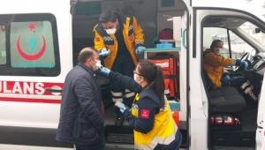 Ardahan'da Virüs Şüpheli Bir Kişi Acil Bir Şekilde Ambulansa Alındı!