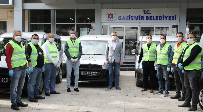 Gaziemir'de kamu kurumlarının önemli iş birliği