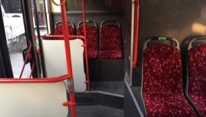 """Toplu ulaşımda """"yeşil koltuk"""" uygulaması"""